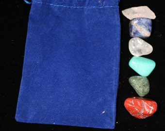 Tumbled Stone Medicine Pouch - Communication