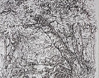 Original Sketch, Ink on Paper Sketch, Certified Original Sketch, Ink on Paper  Sketch, Unframed Impressionist Sketch, Art Investment