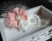 Flower Girl headband baby hairbows newborn child photo prop Wedding birthday