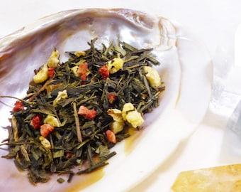 1 ounce -  Katrina Thorindal - Green Tea Peach and Strawberry - Keys of Kalijor