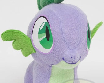 Chibi Spike MLP Hand-Made Custom Craft Plush