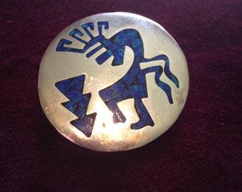 925 Silver & Lapis Pendant