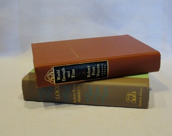 Author Robert Penn Warren Set of Hardbound Books; World Enough and Time & Flood