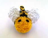 Bee - Key Chain Hand Knitted