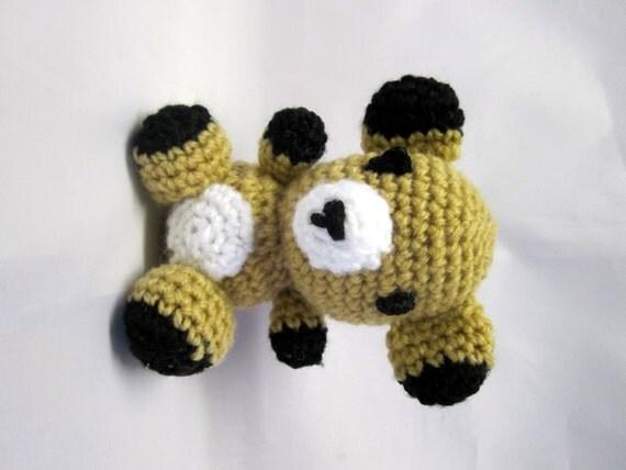 Amigurumi Teddy Bears : Amigurumi Bear Teddy Bear Amigurumi Hand Crochet by AlfieJayne
