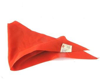Pioneer scarf necktie soviet new old stock communism young communist