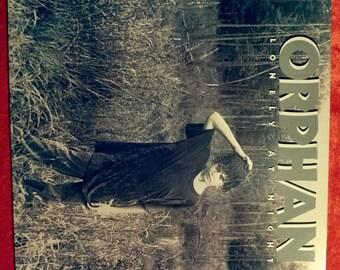 Vintage Orphan Lonely at Night Vinyl Record Album LP 1983 .Promo