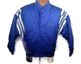 Vintage Jacket, Vintage Pullover, Mens Jacket // 80s Jacket, 90s Jacket, 80s Clothes, 90s Clothes