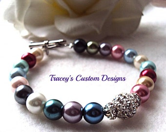 Beautiful CASUAL Style Women's Bracelet - Custom Made Just for you.