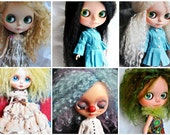 Retrooting services for blythe doll made by order.This price included Hair & Scalp and service