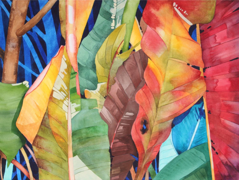 Hawaii........Dramatic Art Original Watercolor by ...