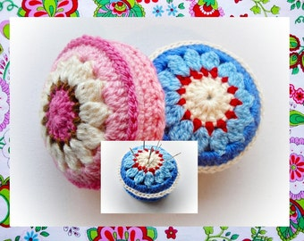 Lily Pincushion Crochet Pattern