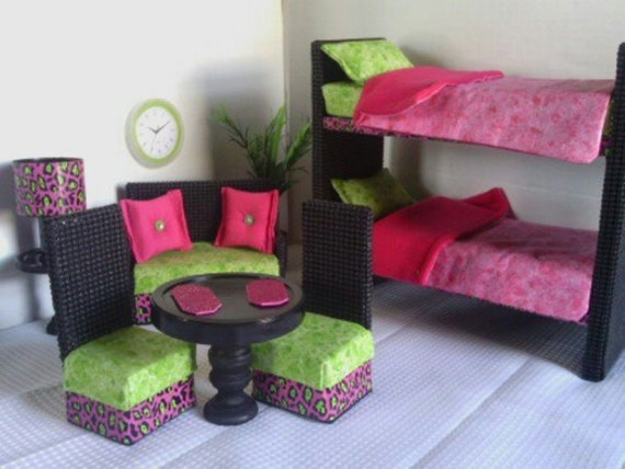 Barbie Furniture Monster High Furniture New Item Bunkbed
