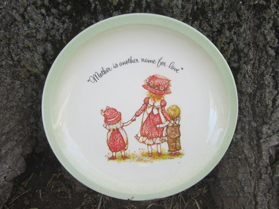 Holly Hobbie Plate 1972, Collectors Plate, Holly Hobbie