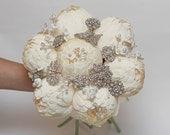 wedding bouquet, brooch bouquet, bridal bouquet, bridesmaids bouquets, wedding flowers, paper flower bouquets