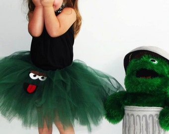 Oscar The Grouch Tutu