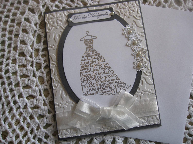 handmade greeting card wedding wishes