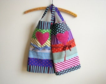 linen Kids apron for craft, gardening or cooking