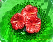 Molded Gumpaste Hibiscus - confectionerygarden