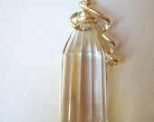 Sale--Hold For Elizabeth Keller---Large Faceted Quartz Crystal with Inclusions E2315