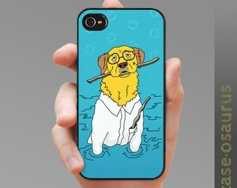 In the Lab - Yellow Lab iPhone Case, for iPhone 6, iPhone 5/5s or iPhone 4/4s, Samsung Galaxy S6, Galaxy S5, Galaxy S4, Galaxy S3