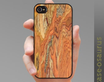"""iPhone Case - """"Funky Wood Grain 1"""" - Wood Grained Patterned for iPhone 6, iPhone 5/5s or iPhone 4/4s, Samsung Galaxy S5, Galaxy S4, S3"""