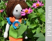 INSTANT DOWNLOAD - PDF Crochet Lucie Doll