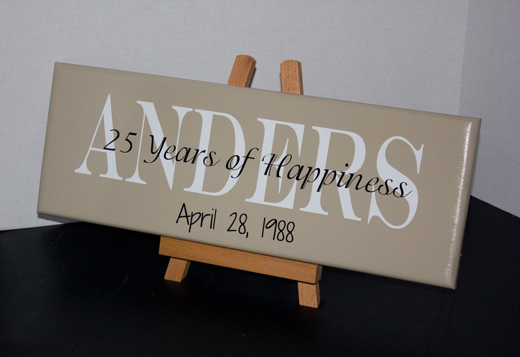 Return Gifts For 25th Wedding Anniversary: 25th Wedding Anniversary 50th Wedding Anniversary Wood Sign