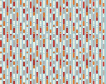 Boys Stripe Orange: One For The Boys By Zoe Pearn for Riley Blake 1 Yard Cut