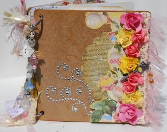Mini Scrapbook - Photo Album - Keepsake Album
