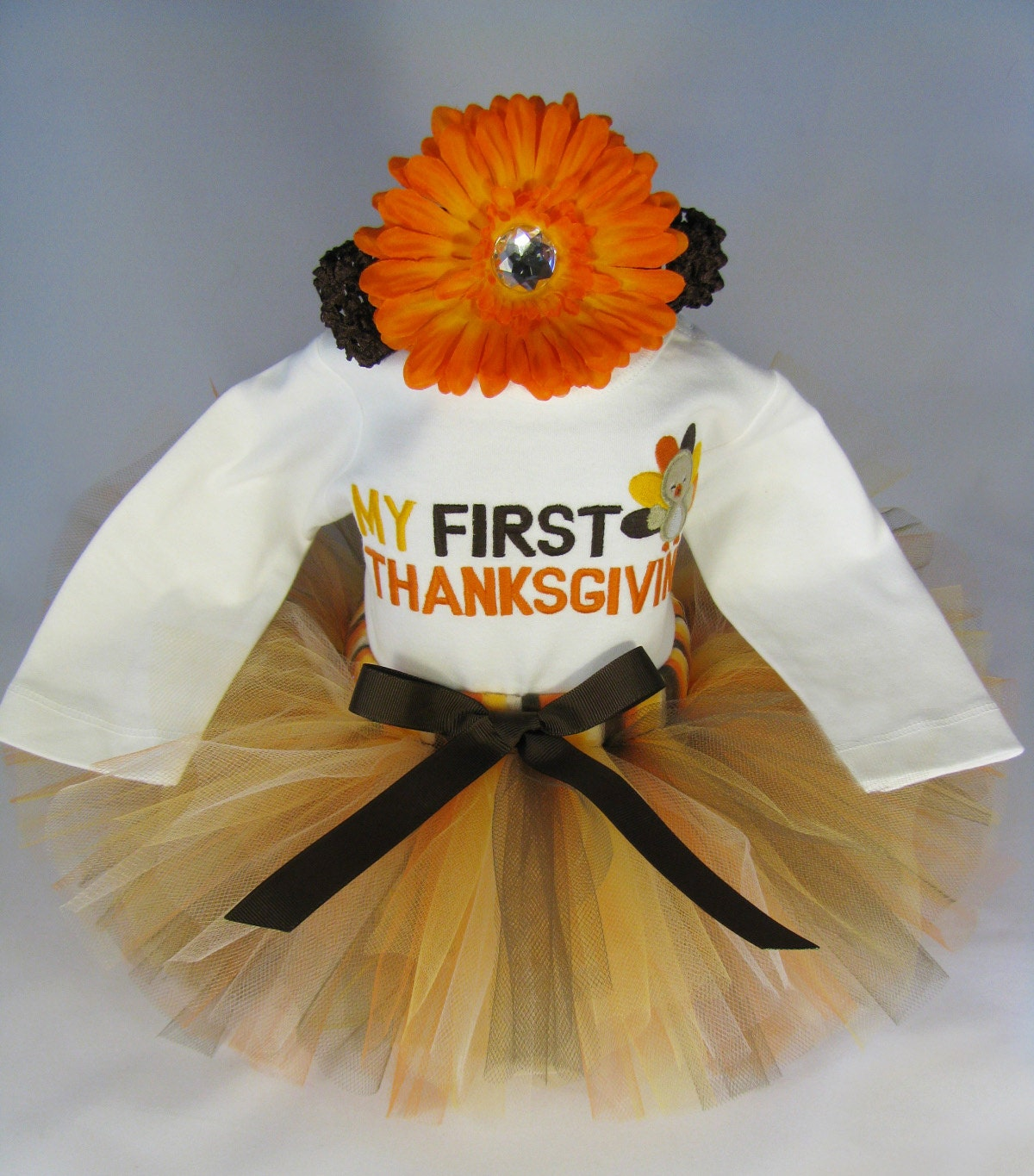 Babys Thanksgiving Outfit First