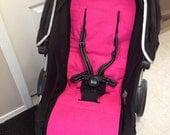 Reversible custom stroller/pram liner