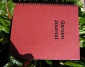 Garden Journal--Water-resistant
