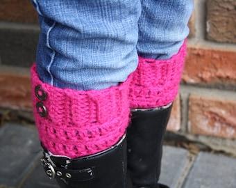 Children's Boot Cuffs. Kids Crochet Boot Cuff. Boot Toppers. Child Sized Boot Cuffs. Boot Socks Boot Warmers Children's Boot Cuff Kids
