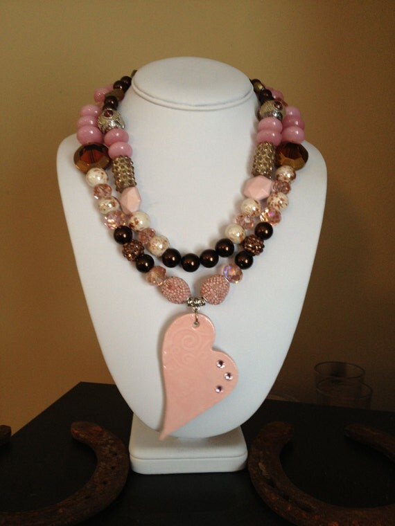 Western Necklace / Cowgirl Bling / Chunky Cowgirl