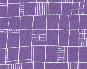 Moda Fabrics Summersville Spring by Lucie Summers Fences in Lilac 1 Yard Cut