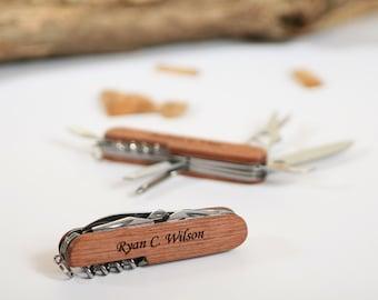 Engraved Pocket Knife, Personalized Groomsmen Gift, Ring Bearer Gift, Graduation Gift, Knife