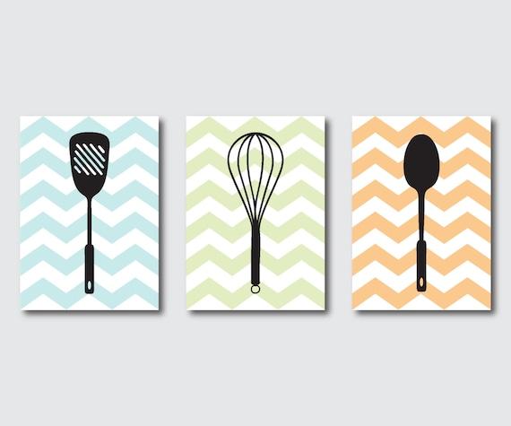 kitchen wall art trio set of three 5x7 by susannewberrydesigns. Black Bedroom Furniture Sets. Home Design Ideas