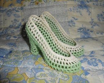 Crochet High Heels