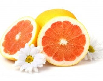 1/3oz Natural Grapefruit Perfume Oil, Fragrance Oil in Roll-on Bottle, Lotions and Potions