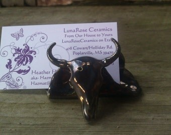 Cow Business CardHolder