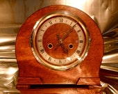 Reserved for Peter T.) DUBROS 14 Day BRITISH Striking CLOCK