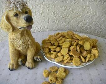 DOG TREATS, 8 oz Chicken Oatmeal Banana; Pumpkin Oatmeal Peanut Butter; Salmon Oatmeal Potato - 8 ounce - 1/2  Pound Package
