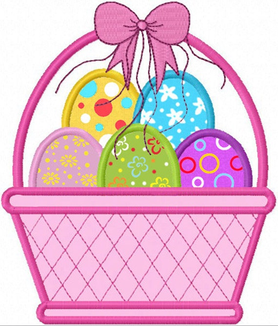 Items similar to instant download easter eggs applique