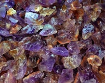 Ametrine - Medium - 'A' Grade - Faceting, Cabbing, Tumbling, Wire Wrapping, Reiki, Wicca, Crystal Healing, Polishing, Jewelry Making