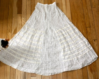Absolutely Beautiful Vintage Edwardian or Victorian Lace Slip XS/S--Great for Vintage Wedding or Edwardian Tea Party