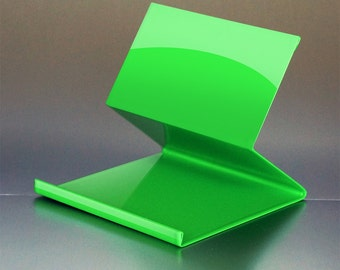 Green iPad/Tablet stand