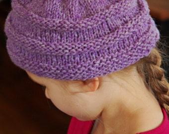 Little Girls Wool Hat.