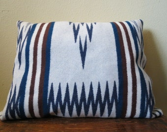 Taso Ikat Wool Pillow Made In The Northwest