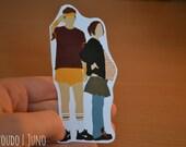 SALE Juno Sticker   Movie Decal   Ellen Page  